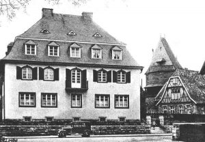Verwaltungssitz der Jüdischen Gemeinde Korbach-Waldeck. | Seat of the administration of the Jewish Community of Korbach-Waldeck.