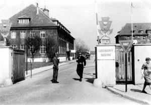Ludendorffkaserne Anfang der 1950er Jahre | Ludendorff barracks in the early 1950s