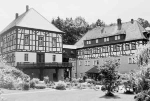 Gebäude der ehemaligen Kuranstalt Wildbad | buildings of the former health spa Wildbad